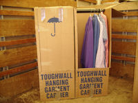 Bunn Removals Wardrobe Hanging Box packing